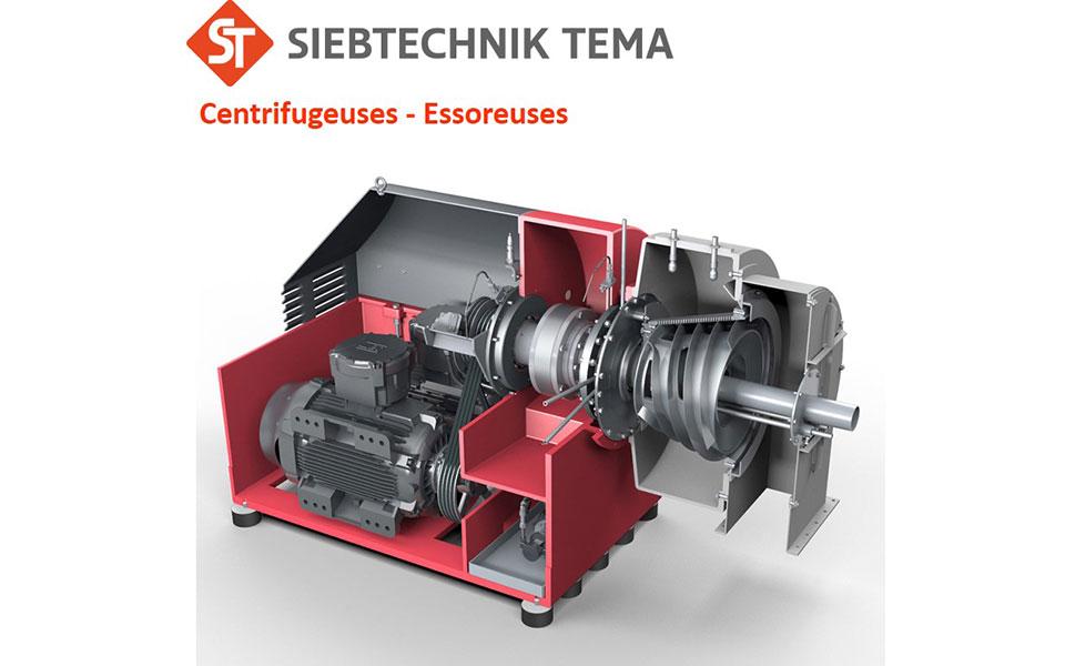 Centrifuga Siebtechnik